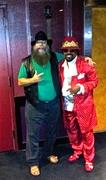 Buffalo Man and Poo Poo Man from Funkadelics