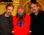 With TJ Politzer and his Brother Tom E. Politzer.