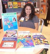 Dianne signing books at ALA Chicago 2009