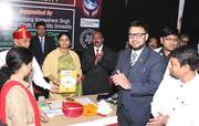 With Anupriya Patel Minister for Health, Government of India