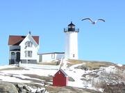 Nubble Lighthouse--York Maine