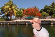 Taking future son in law fishing in keys FL