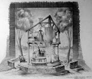 Desire Under The Elms Pencil Sketch