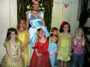 Emily with her Idol Cinderella