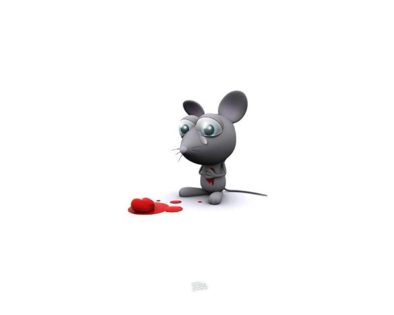 Broken Hearted Mouse