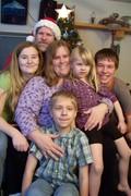 FAMILY PORTRAIT - CHRISTMAS 2009