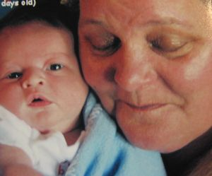 Janet Ritchie and Grandson