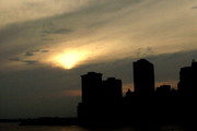 sunset from bklyn
