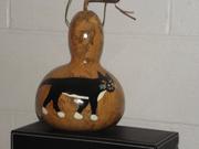 Birdhouse gourd #1