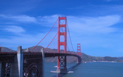 A beautiful day at the Golden Gate Bridge