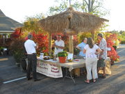 Harmony Winery at Evening in the Garden at Allisonville Nursery