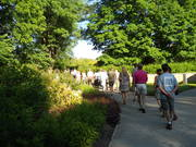 Tour of the IMA grounds at Green Drinks