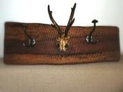 Garderobe Nußholz 400