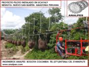 TRACTOR EN PASO ELEVADO CABLE VIA PALMA