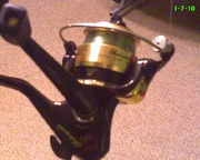 Ugly stick fishing reel