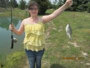 Cheyenne at the Tabbert Pond 5-26-13