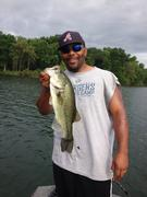 Pre-Frontal Bass Fishing 2