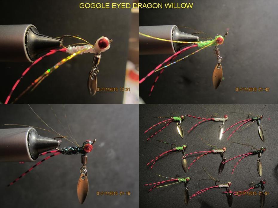 Google eyed dragon willow (Ice Flies).