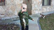 Hunters first bass