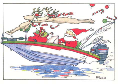 This Is How Santa Gets Around On The Albemarle.......
