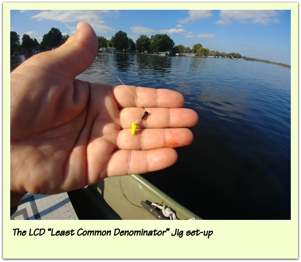 "The LCD ""Least Common Denominator†Jig set-up"