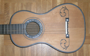 Six course guitar in Kenneth Sparr collection