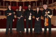 """""""Quinteto Drumond de Vasconcelos"""", direcção de Manuel Morais (Flauta traverssa; 2 Machetes madeirenses, Viola francesa e Soprano)"""