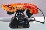 Salvador Dali's Lobster Telephones