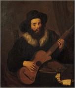 Dutch School (17th century) - Il chitarrista