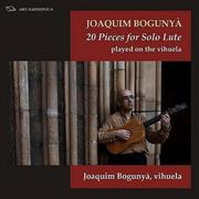 CD 20 Pieces for Solo Lute (2017)