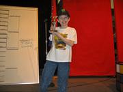 Noah third place awana grand prix