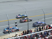 Conway's only lap & Biffle passing below the yellow line
