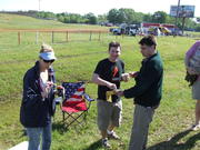 Starting the tailgating with some Fig Newtons!