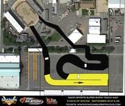 Track Map for Sand Sports Super Show SST events