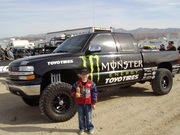 Let's not forget Robby Gordon had ties with Monster?
