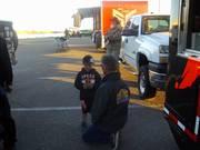 ADD TEXT CAPTION:-Baja Bob Gordon and Grandson Mad Max Gordon - Parker 425 -2014
