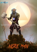 3D Norkman - Character Character Animation Company By GameYan game outsourcing company