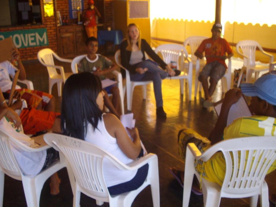 Grupo de Convivência do Projovem Adolescente.