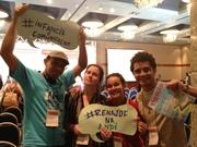 Intervenção e Provocação da Juventude no Seminário Internacional de Infância e Comunicação