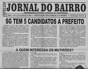 JORNAL DO BAIRRO - ANTONIO CABRAL FILHO, EDITOR - RJ