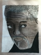 morgan freeman by MiniMonk 2012