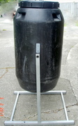 Compost Tumbler-side view