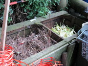 Brown compost bins