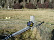 Electric fence charger