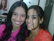 mi preciosa hermanita y yo...