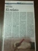 REALTO DE MI ULTIMA OBRA VOCES AL OIDO PUBLICADA EN SUPLEMENTO DE DIARIO PANAMEÑO