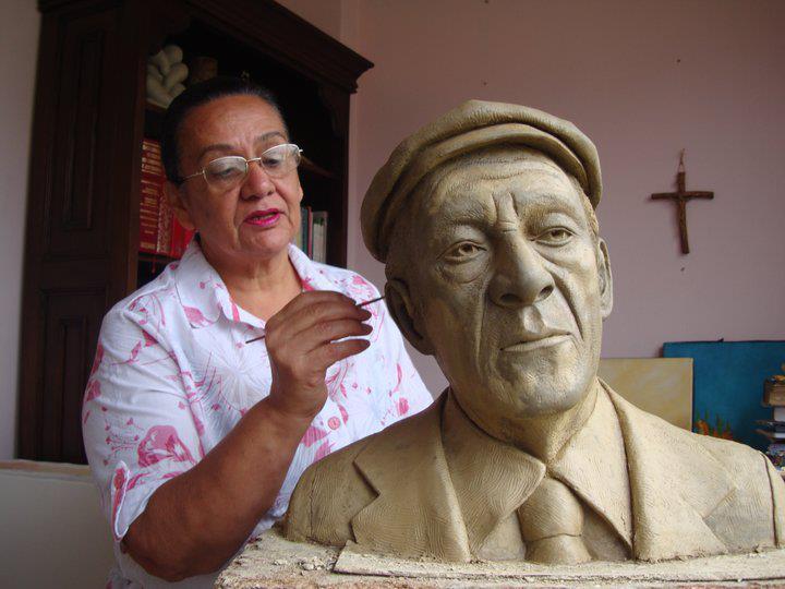 Busto de mi padre Antonio Molina