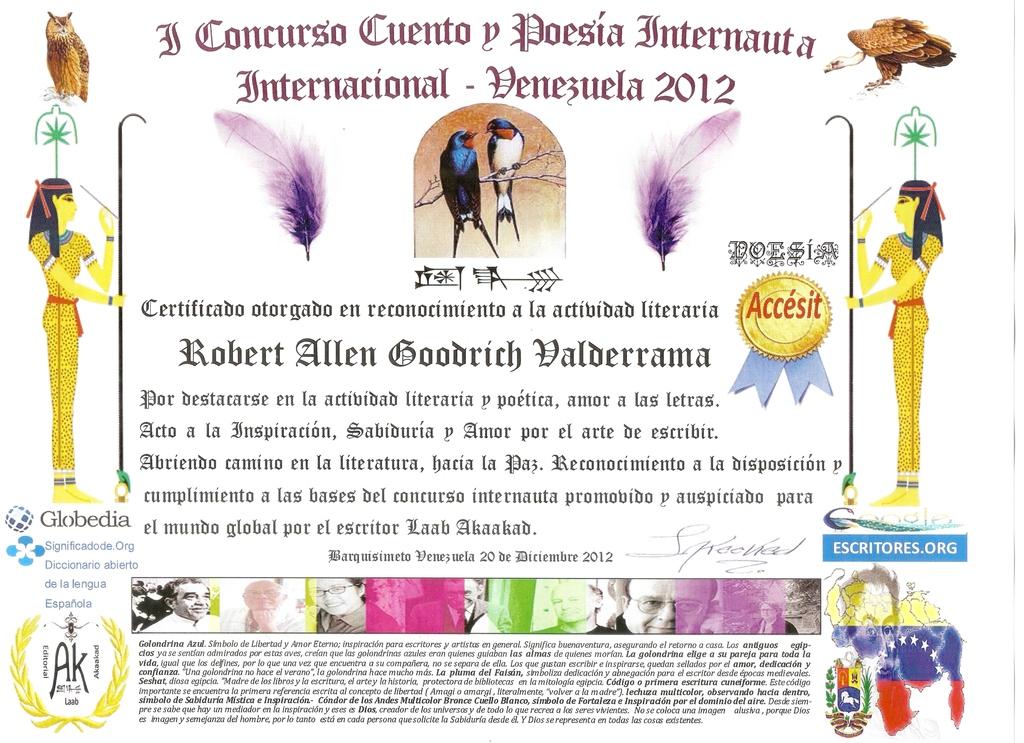Accésit Concurso Venezuela