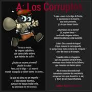 A LOS CORRUPTOS