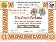 CERTIFICADOS AMIGO SECRETO 2016